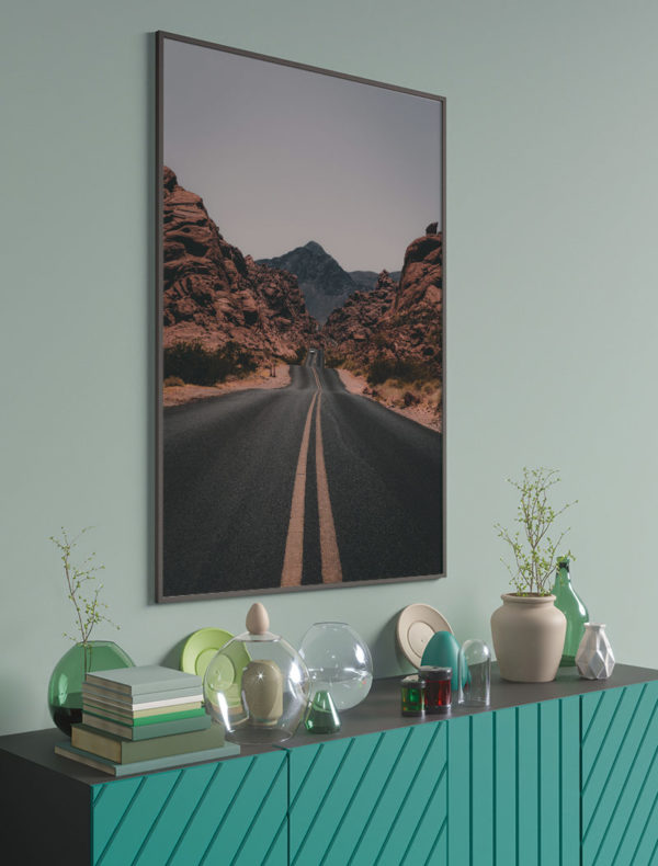 Ambiente lámina carretera