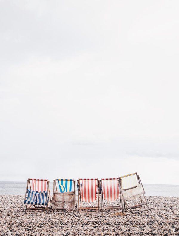 Lámina sillas playa