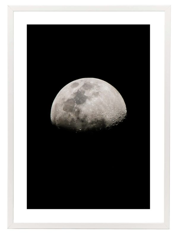 Lámina Luna Marco Blanco