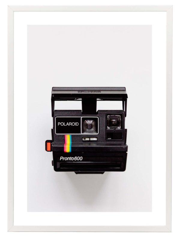Lámina Polaroid Marco Blanco