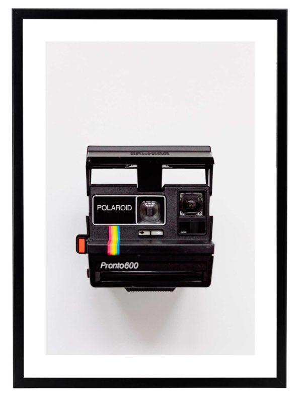 Lámina Polaroid Marco Negro