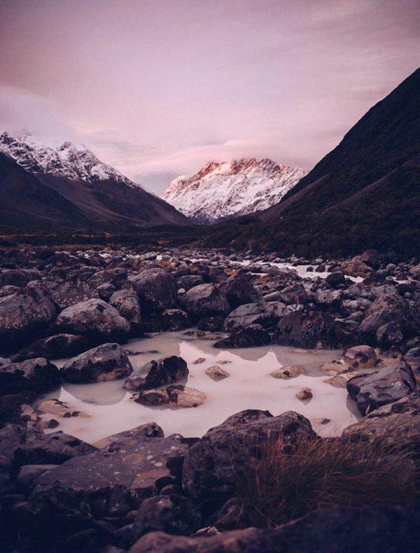 Lámina montañas