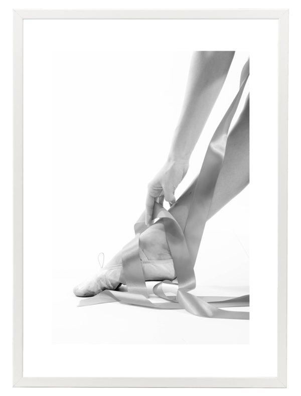 Lámina bailarina Marco Blanco