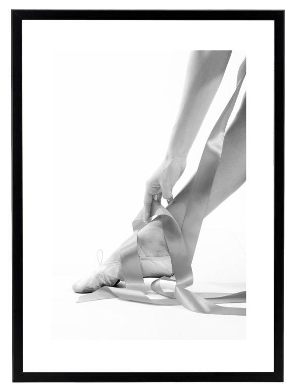 Lámina bailarina Marco Negro