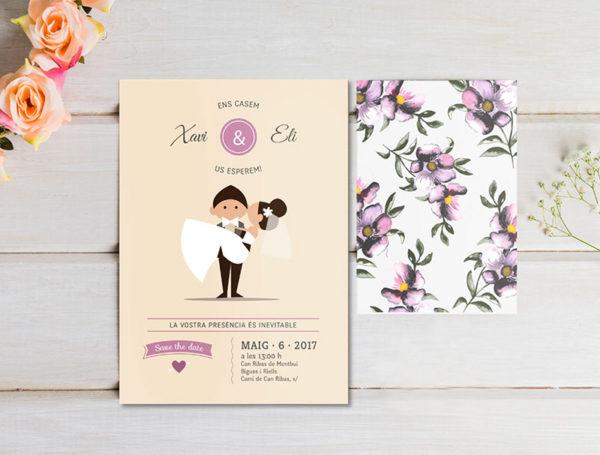 invitacion-boda-classic-flowers