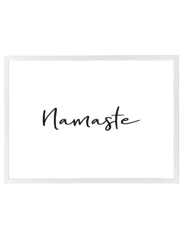 LAMINA-NAMASTE-MARCO-BLANCO-HORIZONTAL