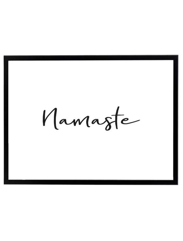 LAMINA-NAMASTE-MARCO-NEGRO-HORIZONTAL