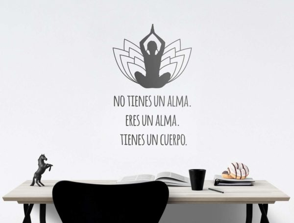 Vinilo Pared Yoga