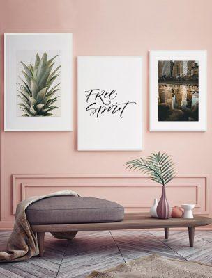 Composición Láminas Espíritu Libre