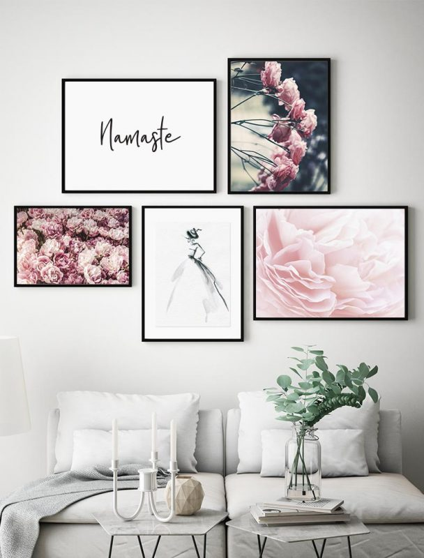 Composición Láminas Florales