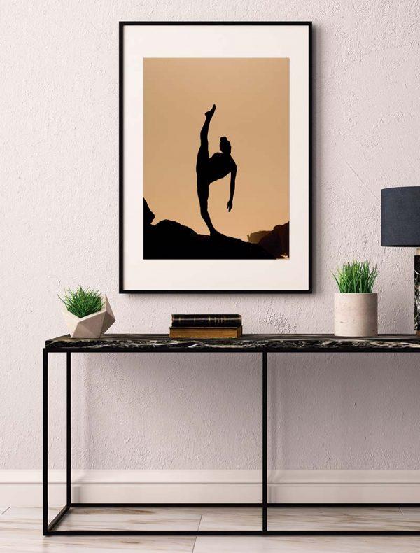 Ambiente Lámina Sombra Bailarina