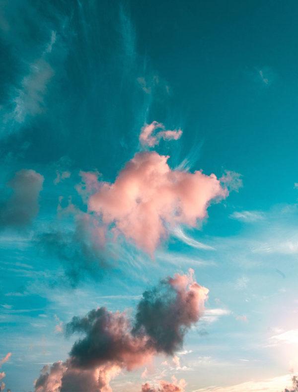 Lámina Nube Rosa