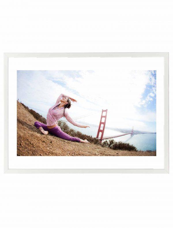 Lámina Yoga San Francisco Marco Blanco