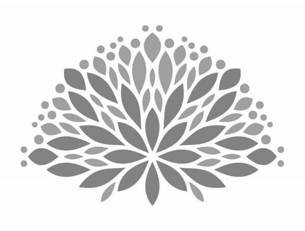 Diseño cabecero floral