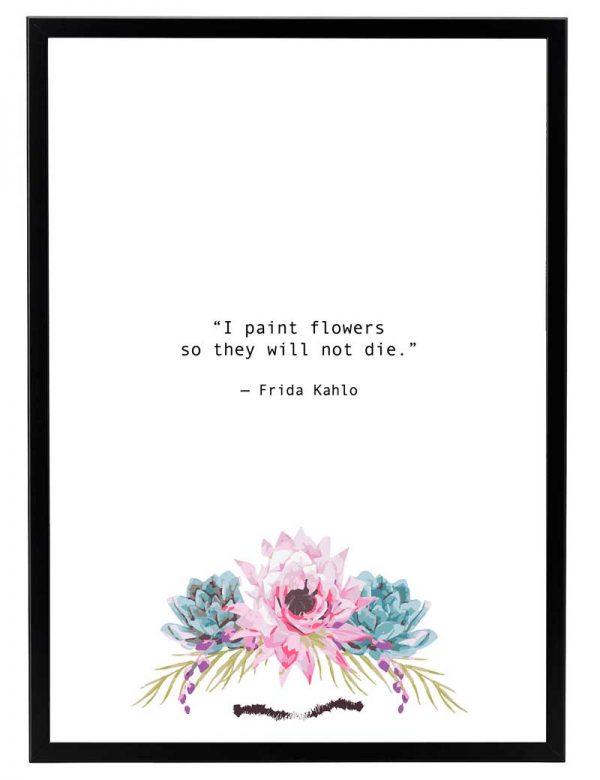LAMINAS-FRIDA-FLOWERS-MARCO-NEGRO