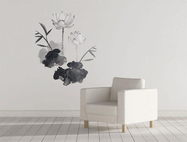 vinilo-flower-zen-Simulacion