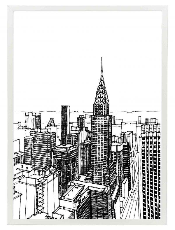 LAMINAS-NEWYORK-DRAW-MARCO-BLANCO