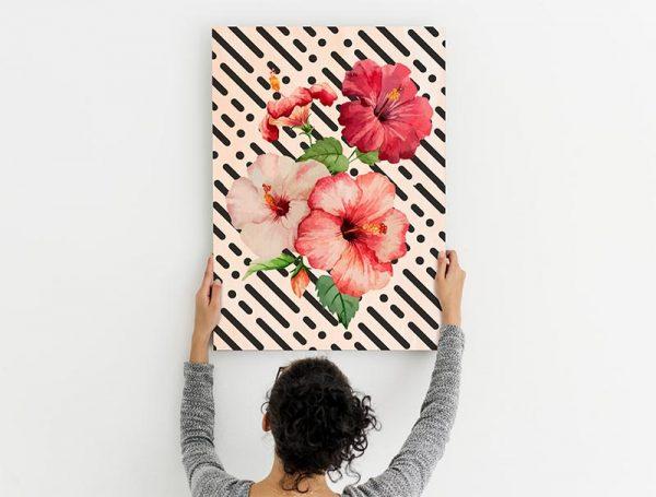 cuadro_madera_flores_tropicales2