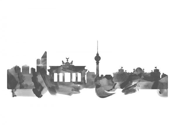 vinilo-skyline-berlin-acuarela-diseno