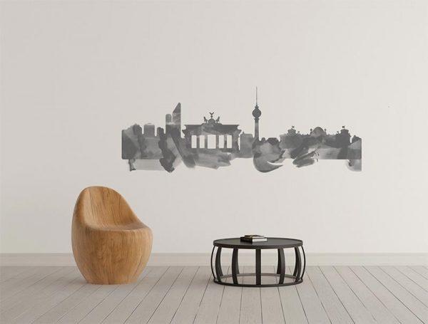 vinilo-skyline-berlin-acuarela-simulacion