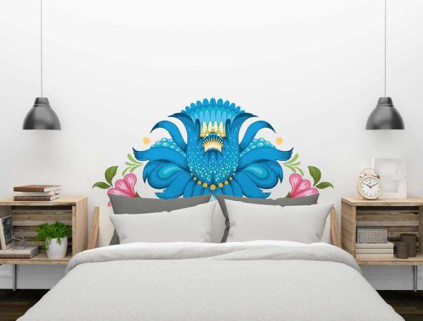 Cabecero-Flor-Azul