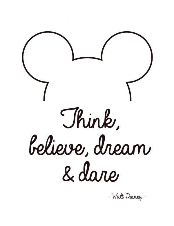 Lámina-Mickey-Inglés