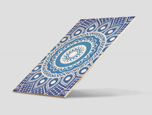 Cuadro-Madera-Mandala-Azul-2