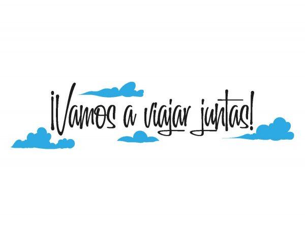 Vinilo-Pared-Viajar-Juntas