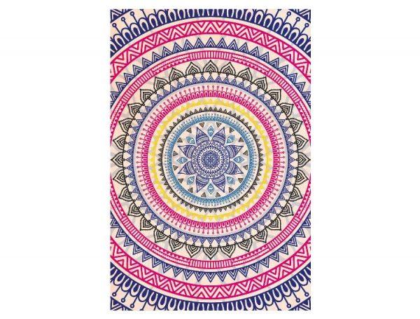 Cuadro-Madera-Mandala-Multicolor