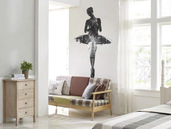 vinilo-pared-bailarina-aplicado