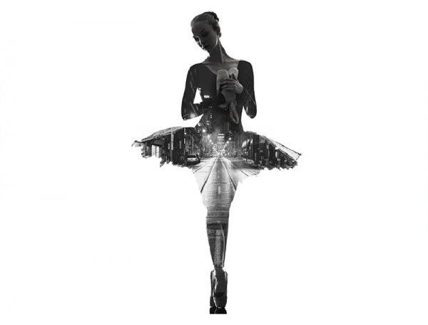 vinilo-pared-bailarina-sola