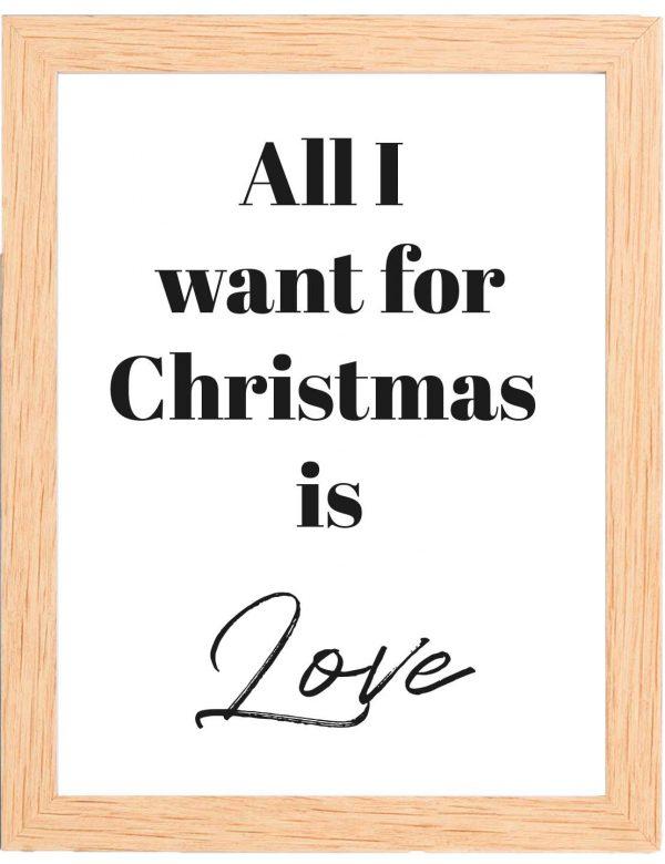 LAMINA-CHRISTMAS-LOVE-MARCO-MADERA