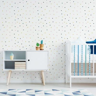 Decorar-paredes-blancas-papel-pintado