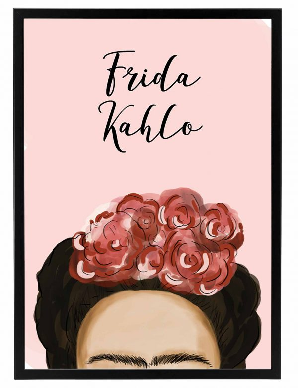 FRIDA_KAHLO_ROSA_MARCO_NEGRO