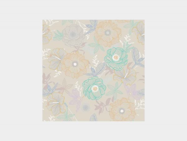 Papel-Pintado-Flores-lineales
