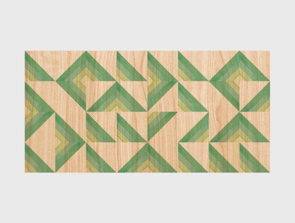 Diseno-Cabecero-Madera-Triangulos-verdes