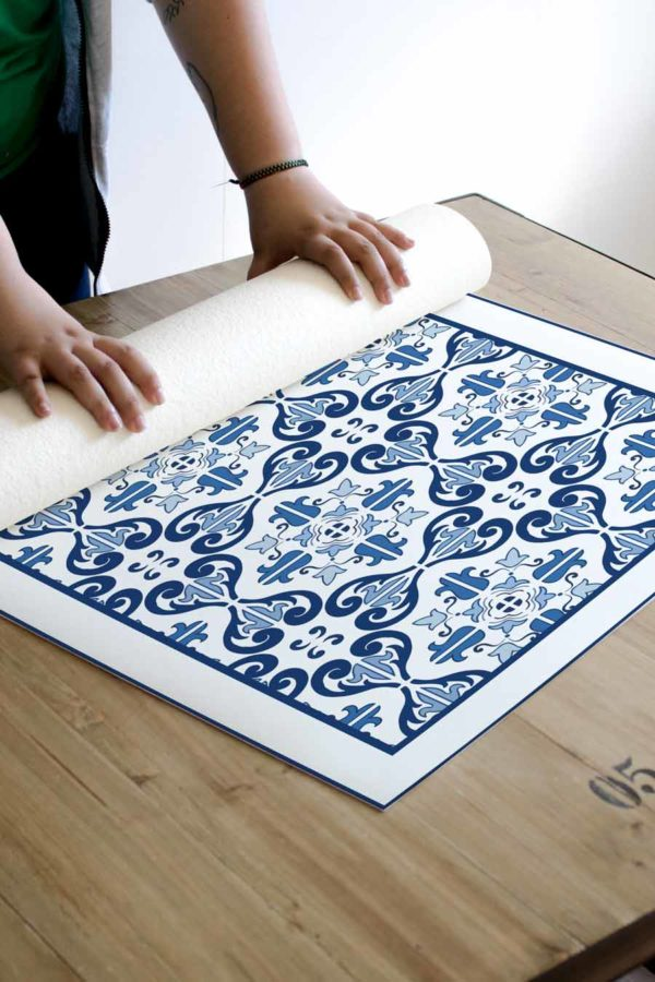 alfombra_enrollada_azulejo_azil_vintage