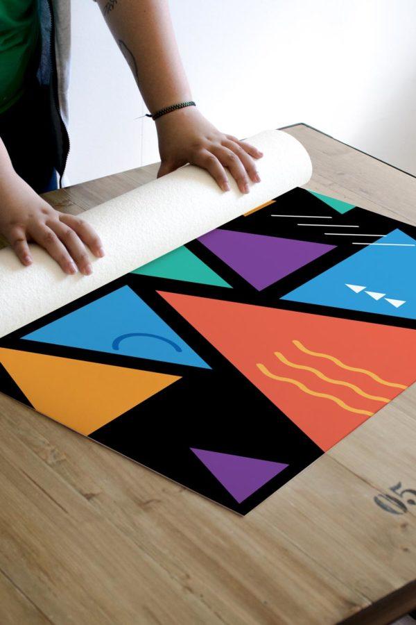 alfombra_enrollada_triangulos