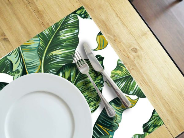 Ambiente-Mesa-individuales-Hoja-Tropical