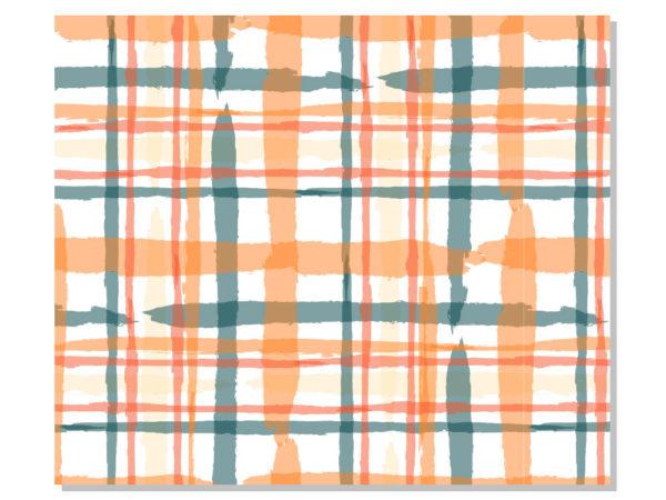 mantel individual cuadrados diseño