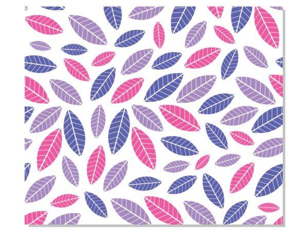 mantel individual hojas diseño