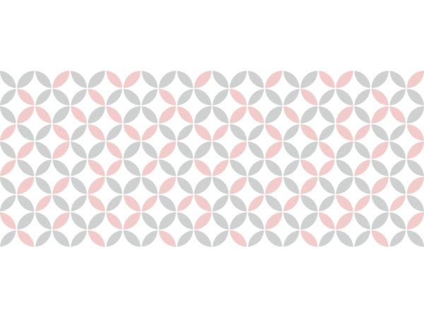 Suelo vinílico Pattern Vintage Rosa Pastel - XL