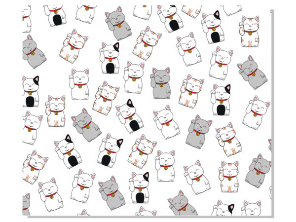 Mantel-Individual-Maneki-Neko-45x38