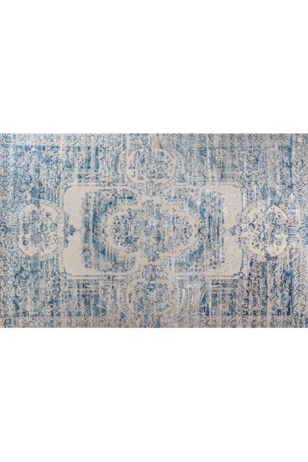 Alfombra Persa azul talla S 96x60 cm