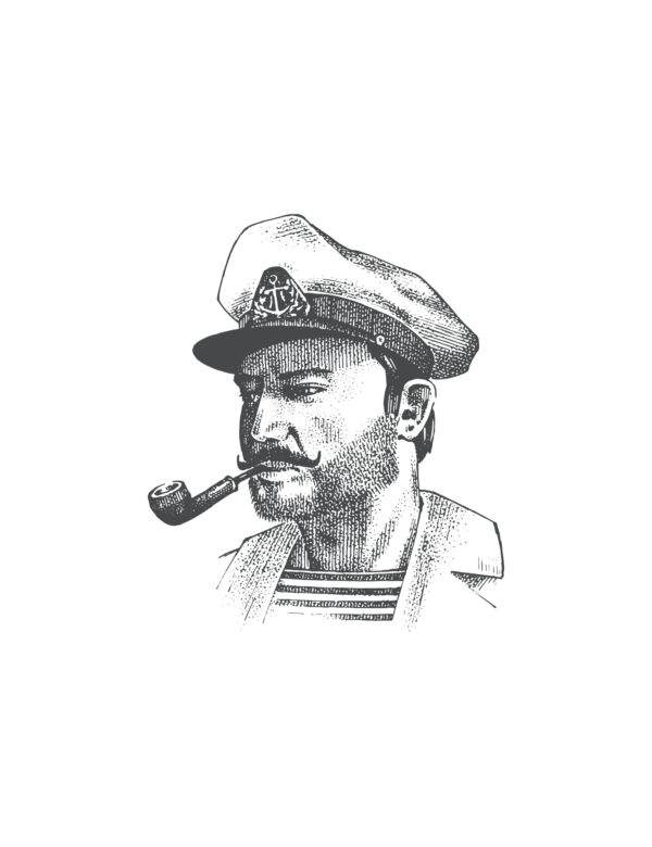 Lámina decorativa GGrabado Capitán sin marco
