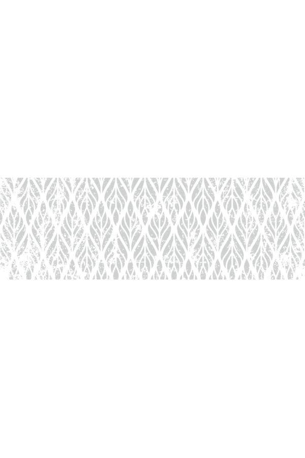 Alfombra vinílica Hojas Desgastadas talla M 180x60 cm