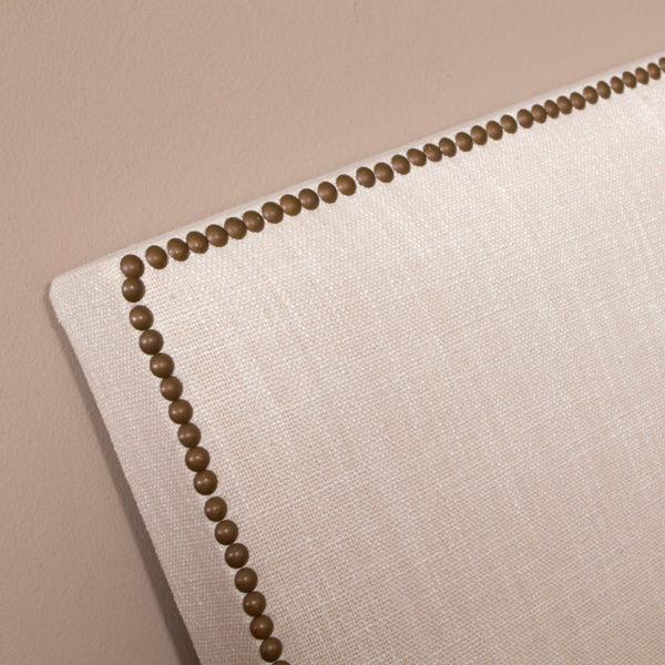 Cabecero tapizado de lino Monet