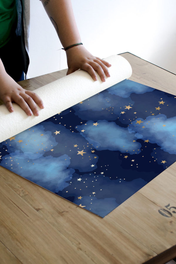 Alfombra vinílica Night Sky