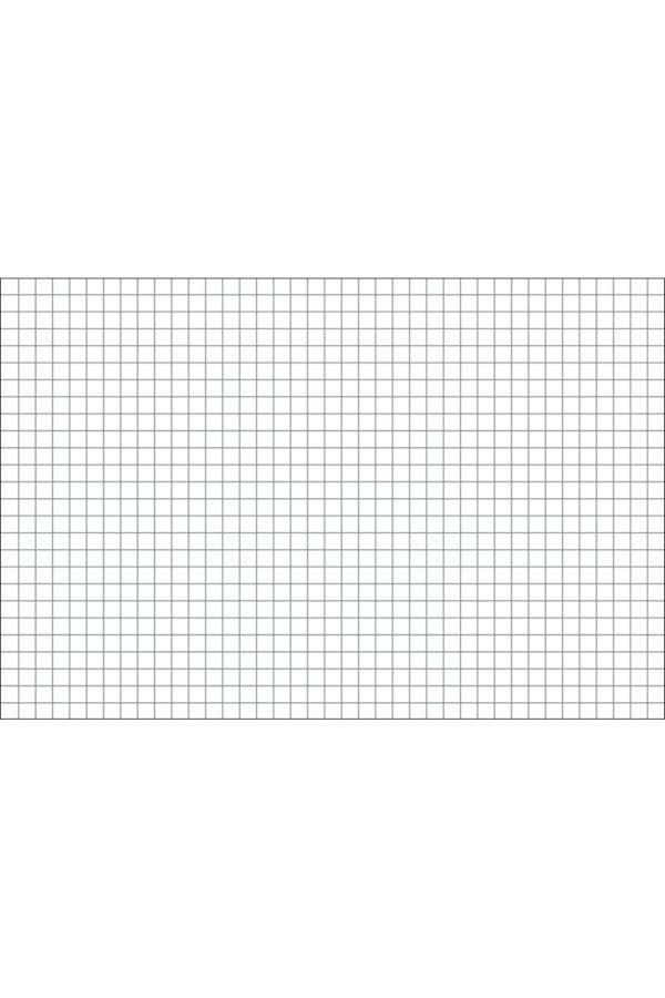 Alfombra vinílica Cuadrícula Gris talla XL 196x130 cm