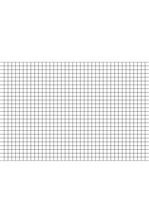 Alfombra vinílica Cuadrícula talla XL 196x130 cm
